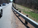 Standard W-beam Guardrail